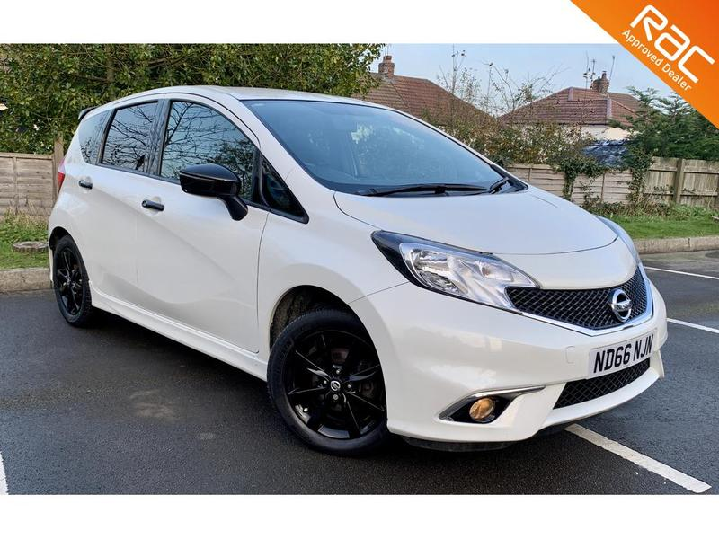 View NISSAN NOTE 1.2 BLACK EDITION
